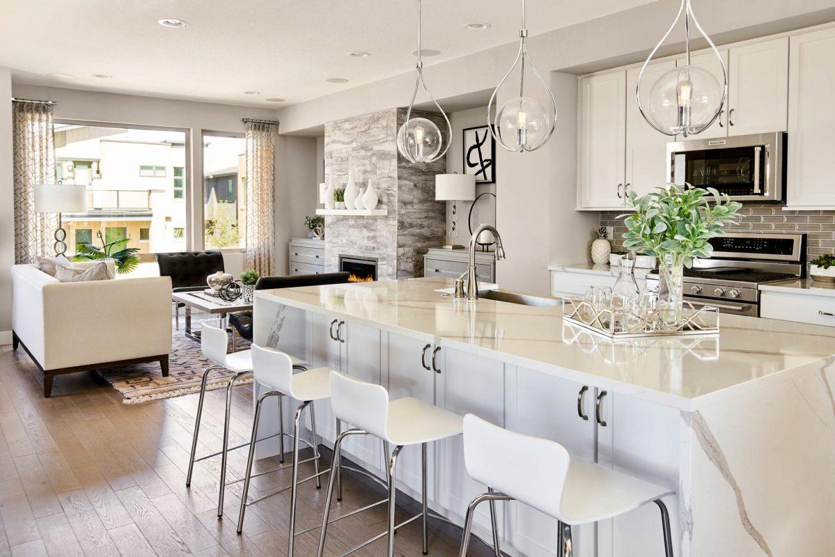 Koelbel 84 Oneida Ct 05 24 18 Kitchen To Living Room Wide Lights On Web