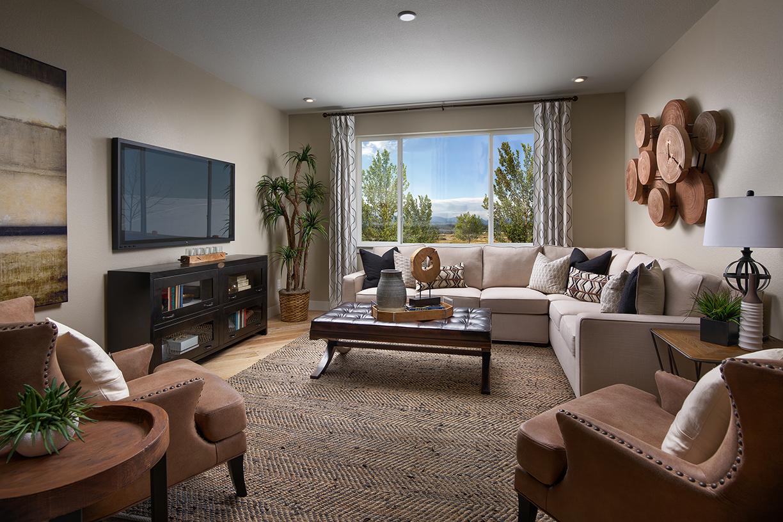 Meritage Vista Highlands Northgate Family Room