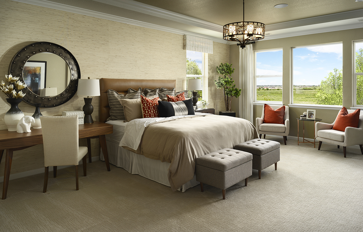 Sterling Ranch Canyon Master Bedroom 1