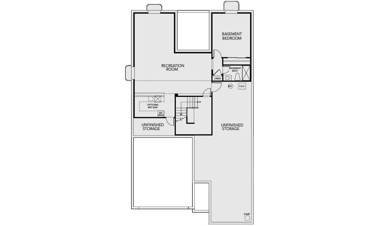 4844 Basalt Ridge Circle Tri Pointe Floorplan 4007 Optional Inishedbasement