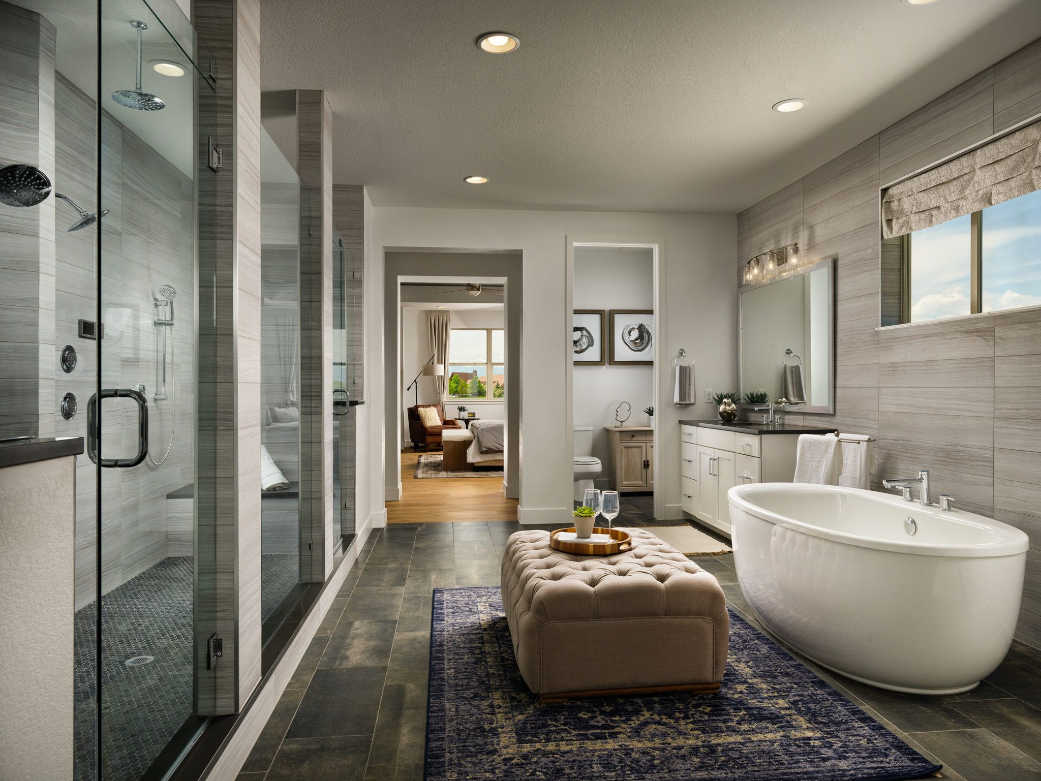 Epic Homes Anthem Pinnacle Master Bathroom