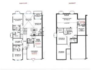 Ponderosa Floorplan 1