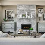 Blvd One Fire Place