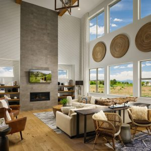Epic Homes Anthem Pinnacle Family Room
