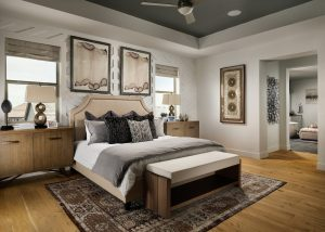 Epic Homes Anthem Pinnacle Master Bedroom