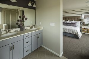 Meadows Paired Walnut Master Bathroom