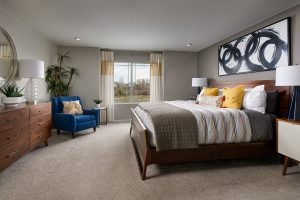 Meritage Harvest Junction Golden Gate Master Bedroom