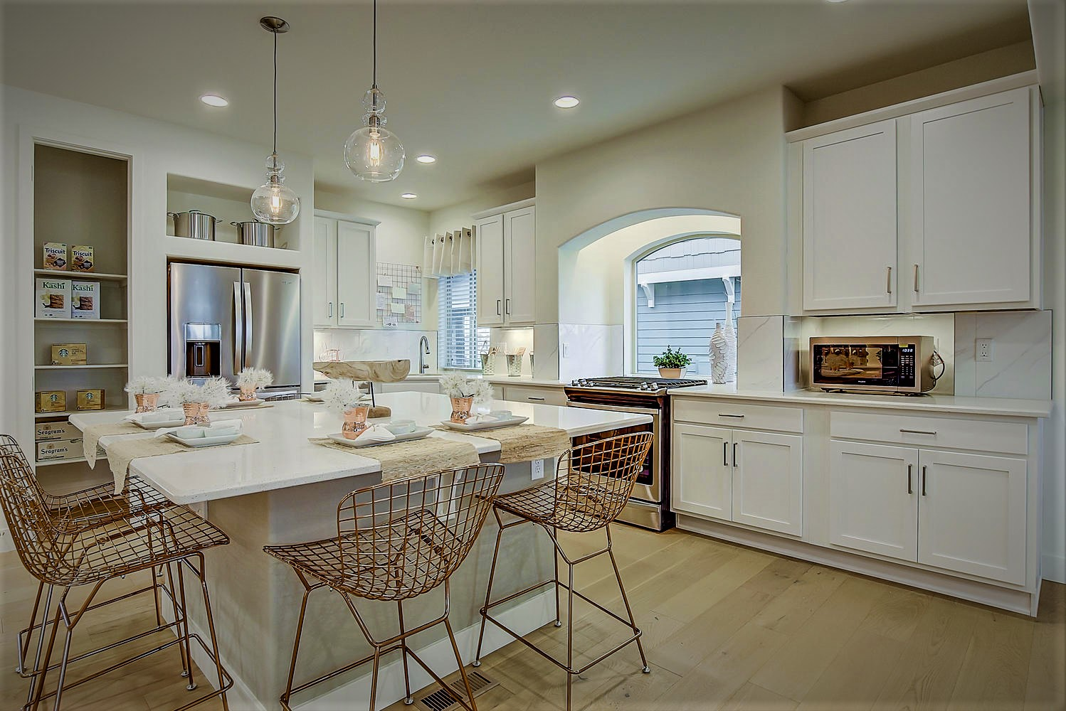 Interior image of a home by Oakwood Homes