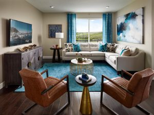 Meritage Medowlark Northgate Family Room