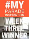 #MyParadeInspiration Week 3 Winner