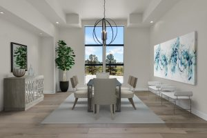 Diningroom1a Transitional Render 1