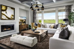 Lennar Sterling Ranch Sequoia Family Room