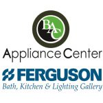 BAC Appliance Center and Ferguson Bath, Kitchen & Lighting Gallery logos