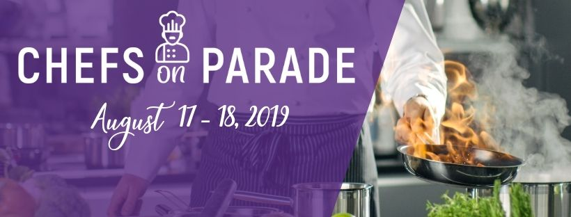 Chefs On Parade Webpage Header