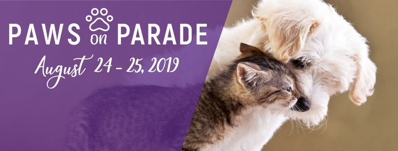 Paws On Parade Webpage Header