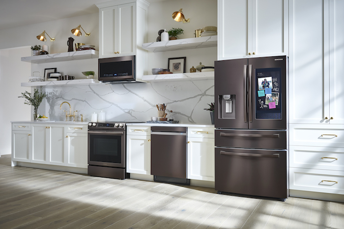 Samsung connected home appliances