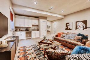 Thrive Home Builders 6102 Akron St Denver Entertainment Room