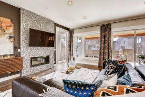 Thrive Home Builders 6102 Akron St Denver Living Room