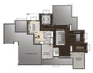 Blanca Floorplan Basement 1