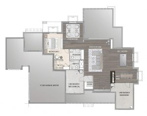 Blanca Floorplan Basement 3