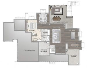 Blanca Floorplan Basement 4