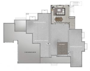 Blanca Floorplan Basement 6