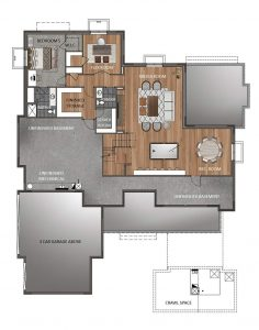 Crema Floorplan Basement 1