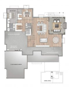 Crema Floorplan Basement 4