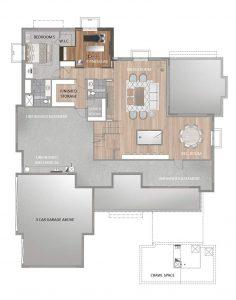 Crema Floorplan Basement 5