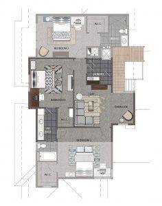 Crema Floorplan Upper 2