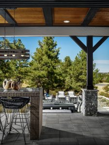Toll Brothers Timbers Patio Vertical