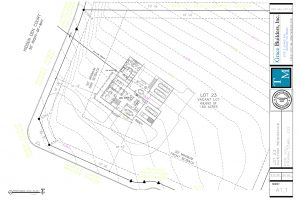 Blue Square Lot 23 Masterplan 20200221 A1.1 Sitepln Gas Meter Location