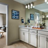 Meritage Senderos Clear Creek Castlewood Master Bathroom