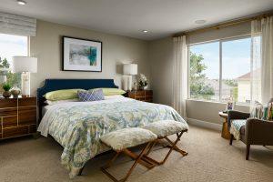Meritage Senderos Clear Creek Castlewood Master Bedroom