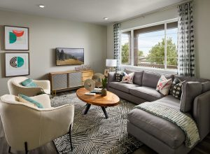Mertage Painted Prairie Woodland Family Room