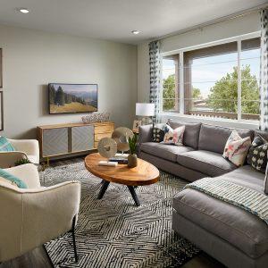 Mertage Painted Prairie Woodland Family Room