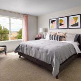 Mertage Painted Prairie Woodland Master Bedroom
