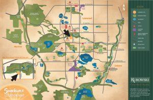 Sundance Custom Home Community Location Map