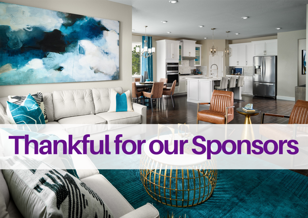 Thankful For Our Sponsors