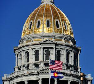 Denver, Usa: Colorado State Capitol Dome
