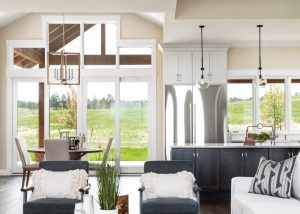 Fox Hill Reed Showcase Home Dining Kitchen
