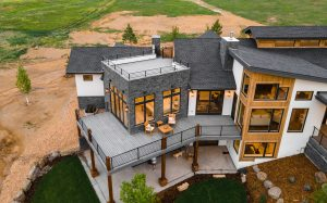 Fox Hill Reed Showcase Home Rooftop