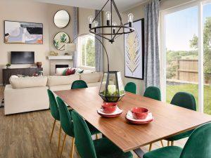 Meritage Sunstone Village At Terrain Bluebell Dining Room