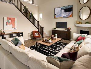 Meritage Sunstone Village At Terrain Bluebell Living Room 1