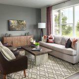 Meritage Village Southgate Palisade Living Room