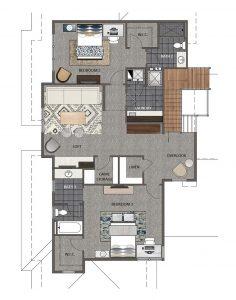 Crema Floorplan Upper 1