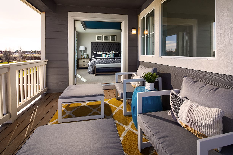 Meritage Stonegate Ridgeline Master Bedroom Patio