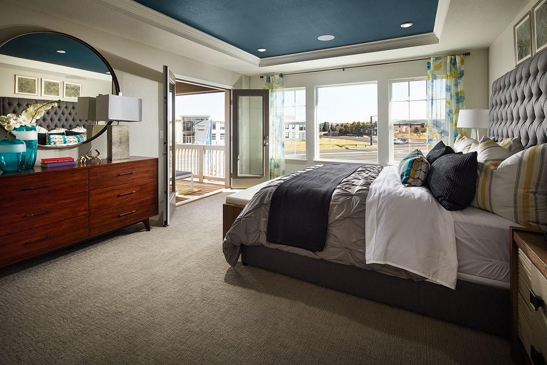 Meritage Stonegate Ridgeline Master Bedroom