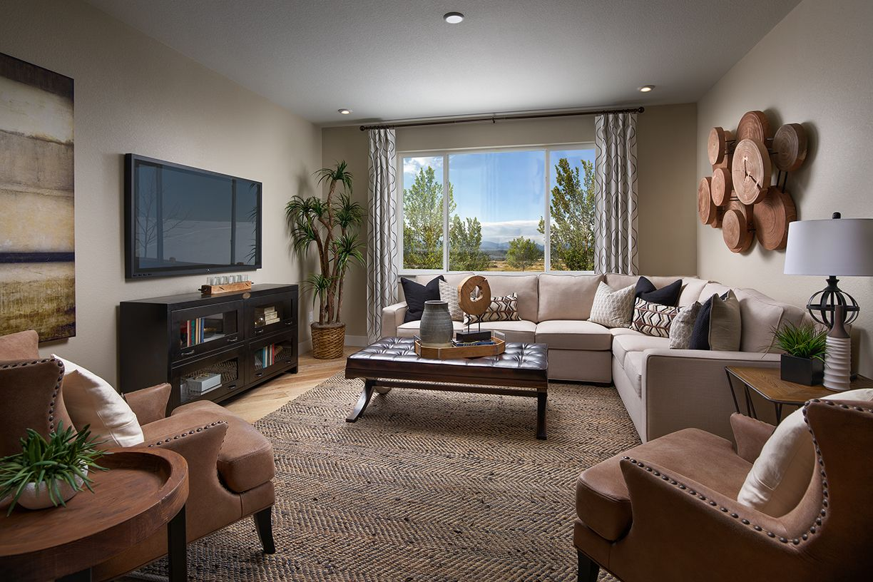 Meritage Vista Highlands Northgate Family Room