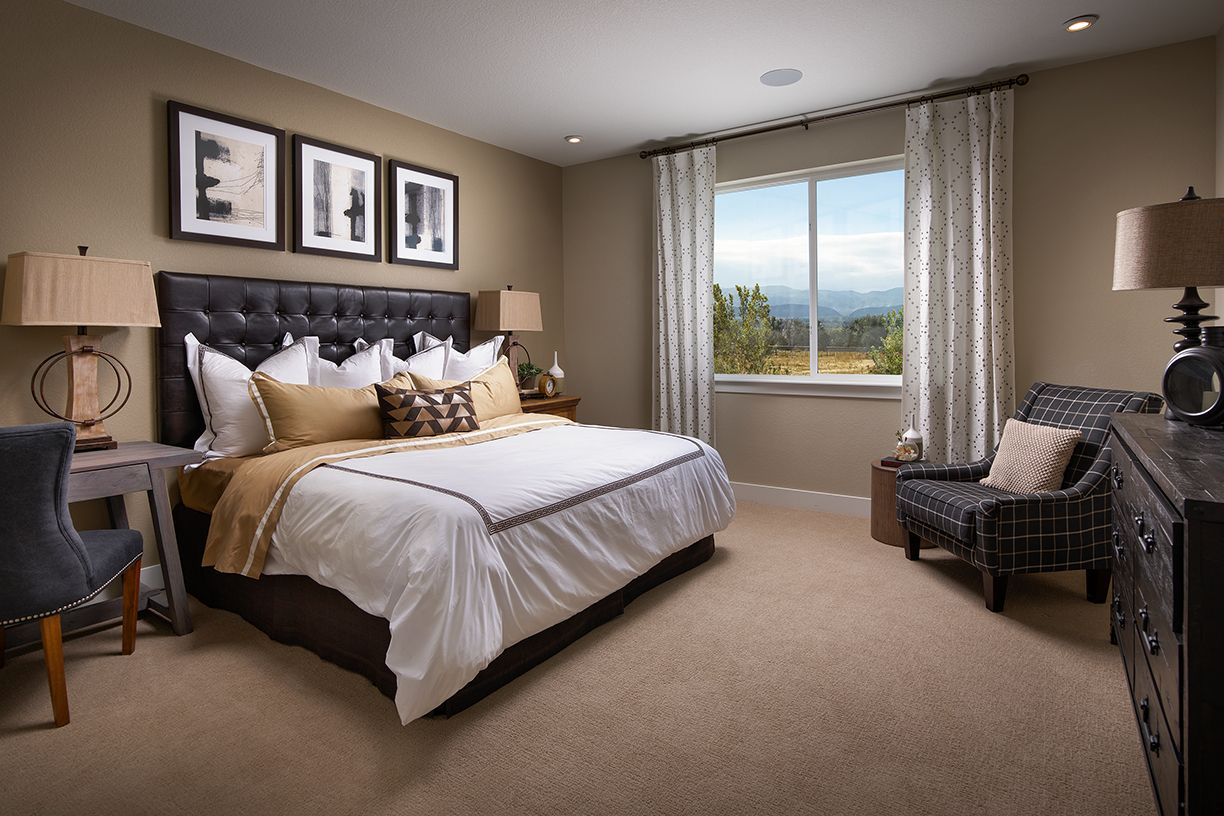 Meritage Vista Highlands Northgate Master Bedroom